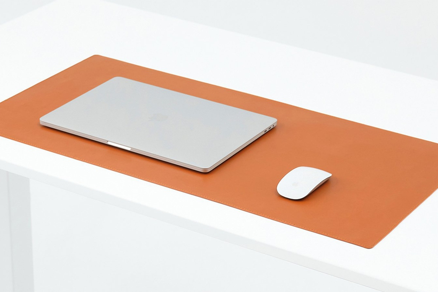 Microfiber Vegan Leather Desk Pad
