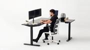 thumbnail of image of l-shaped desk with model - Autonomous.ai 5