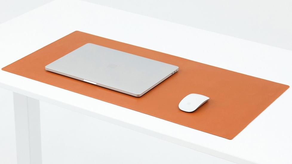 Microfiber Vegan Leather Desk Pad - Autonomous.ai