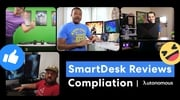 Thumbnail Video introduce SmartDesk 2 - Home Office | Autonomous 0