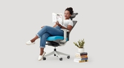 thumbnail of  image of blue ErgoChair with model - Autonomous.ai 7