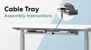 Thumbnail Video about how to assemble the cable tray 1