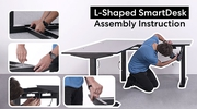 Thumbnail Video of Assembly Instruction of L-shaped SmartDesk 1
