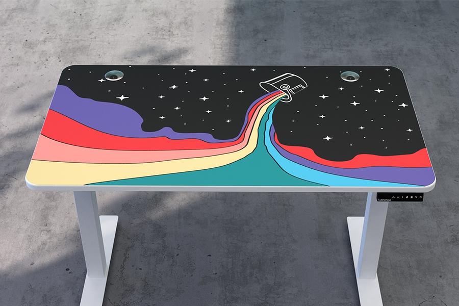 SmartDesk - Color Me Rainbow