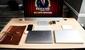 image of bamboo desk setup - Autonomous.ai